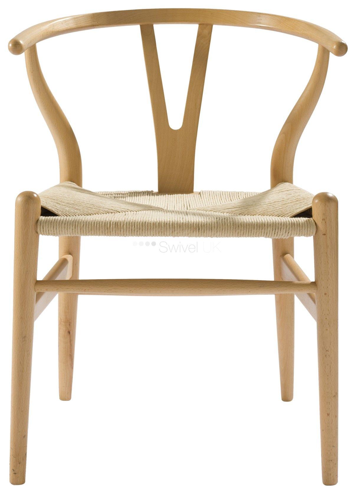Wishbone Chair Wegner wishbone chair, Solid wood dining