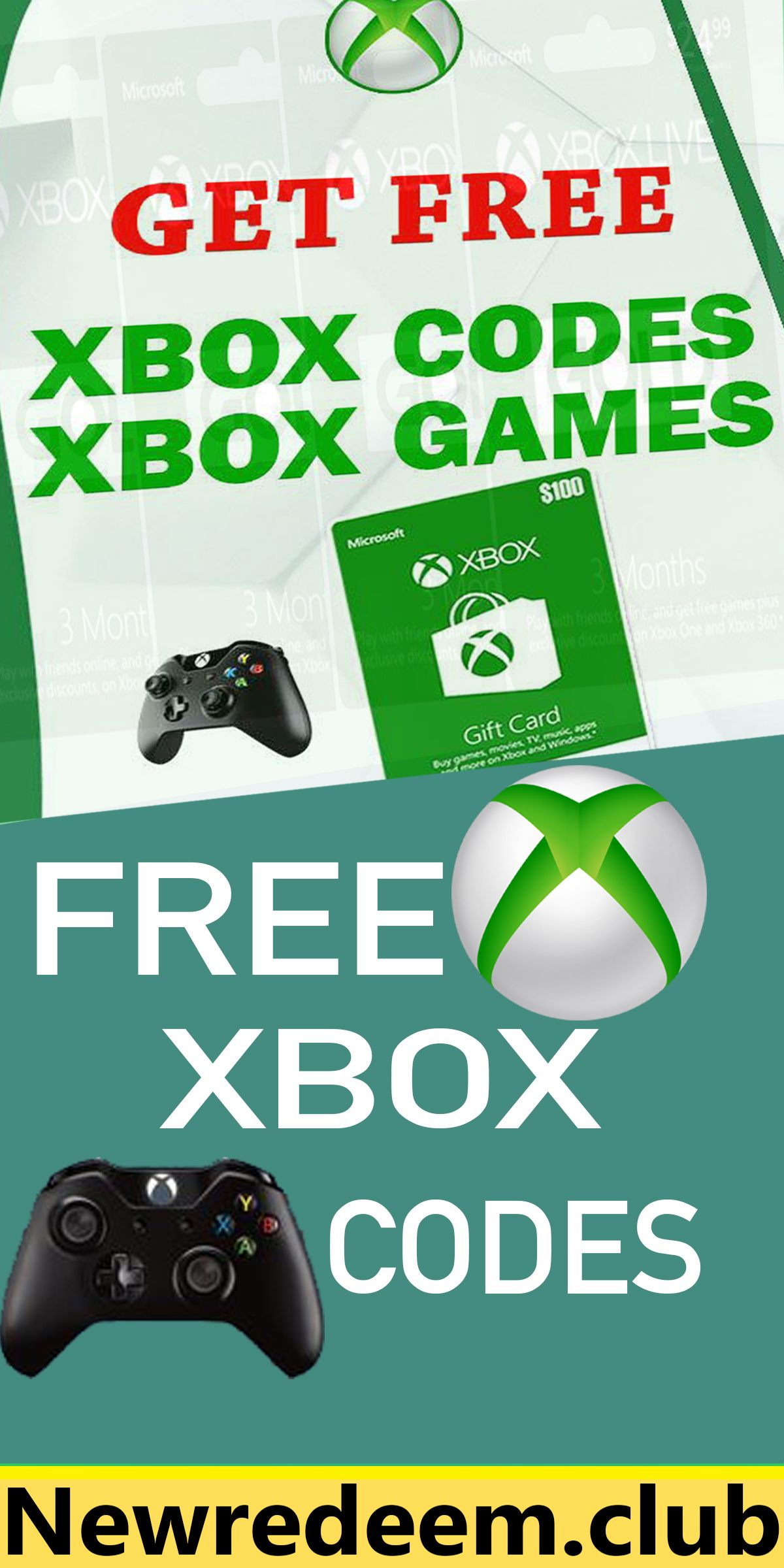 Pin on free xbox gift cards