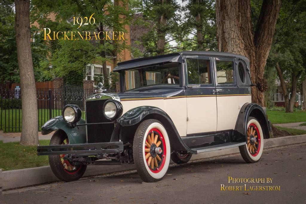 1926 Rickenbacker Brougham - | veteran cars | Pinterest | Cars ...