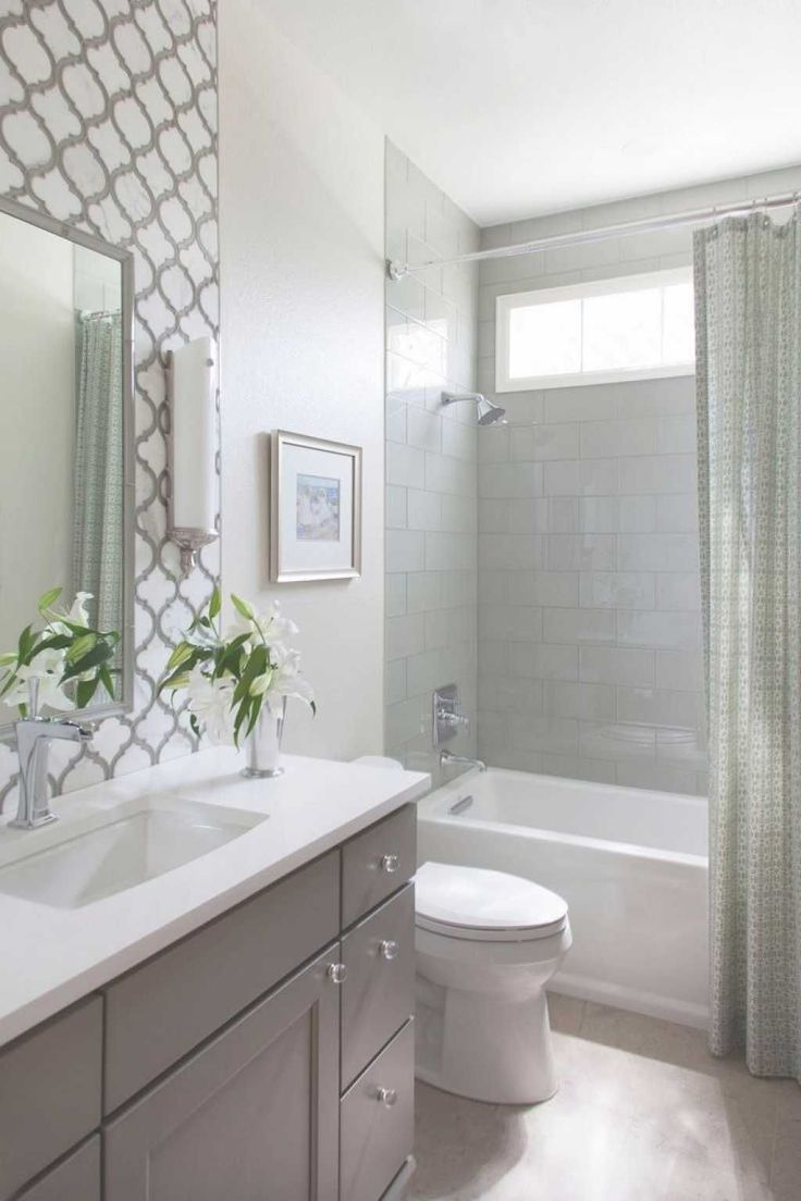 Small Bathroom Remodel No Matter The Size Remodeling A Small Bathroom Is A Big Pr Small Bathroom Renovations Bathroom Design Small Bathroom Tub Shower Combo