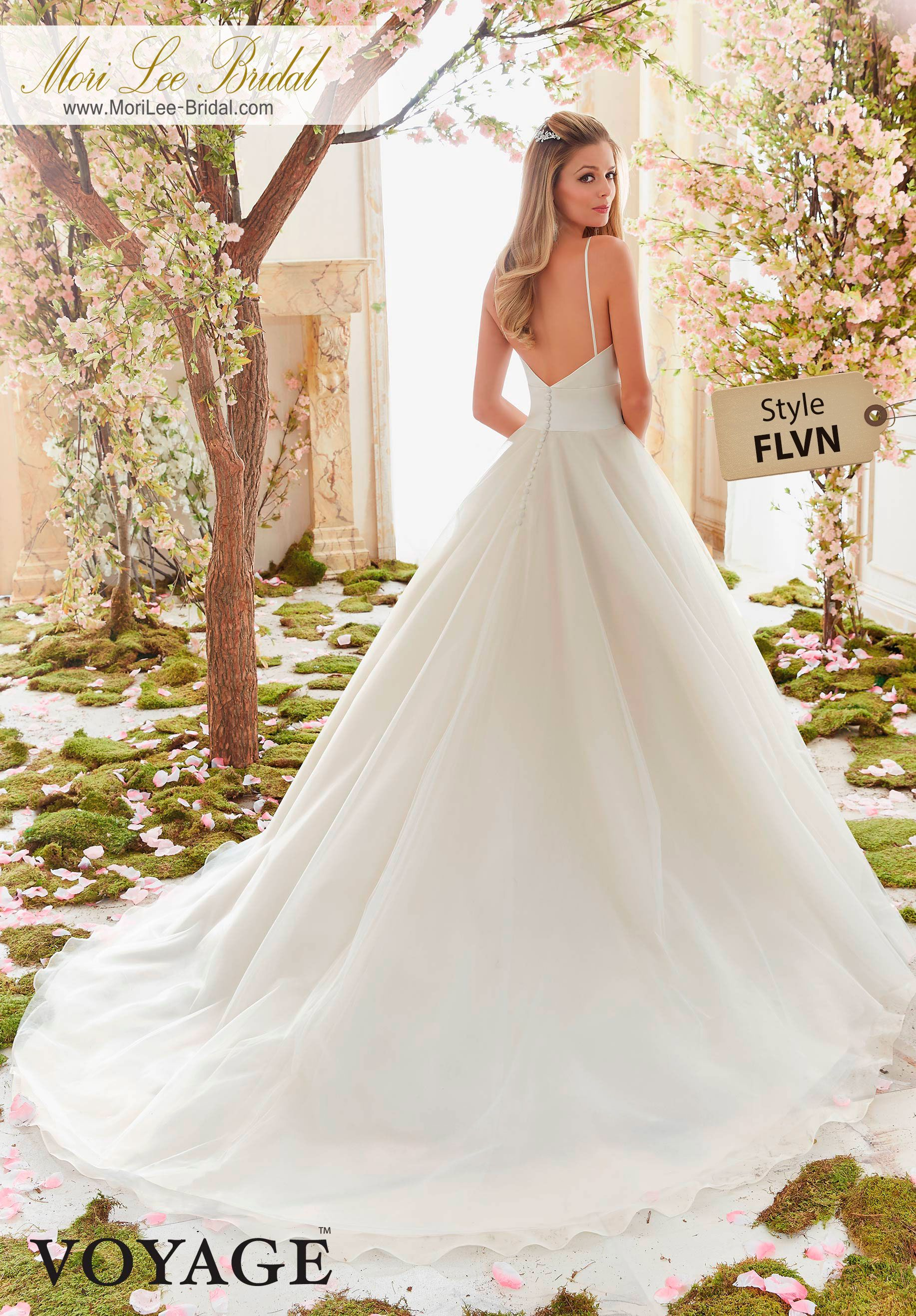 Dress Style FLVN DUCHESS SATIN AND TULLE BALL GOWN Colors Available ...