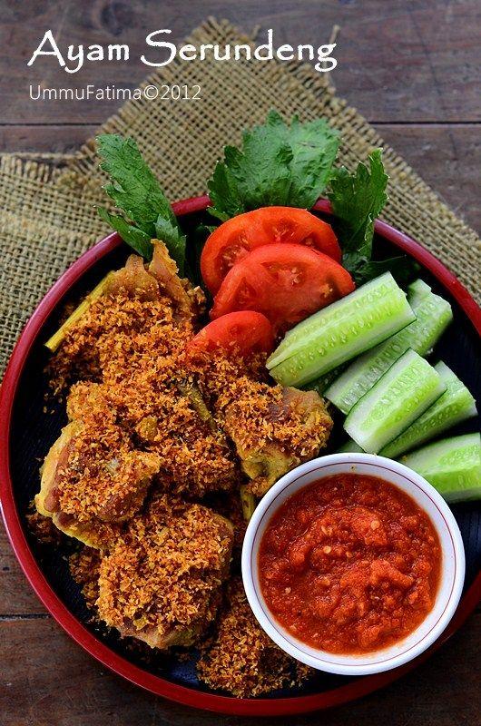 Simply Cooking And Baking Ayam Goreng Serundeng Resep Makanan Asia Resep Ayam Ayam Goreng