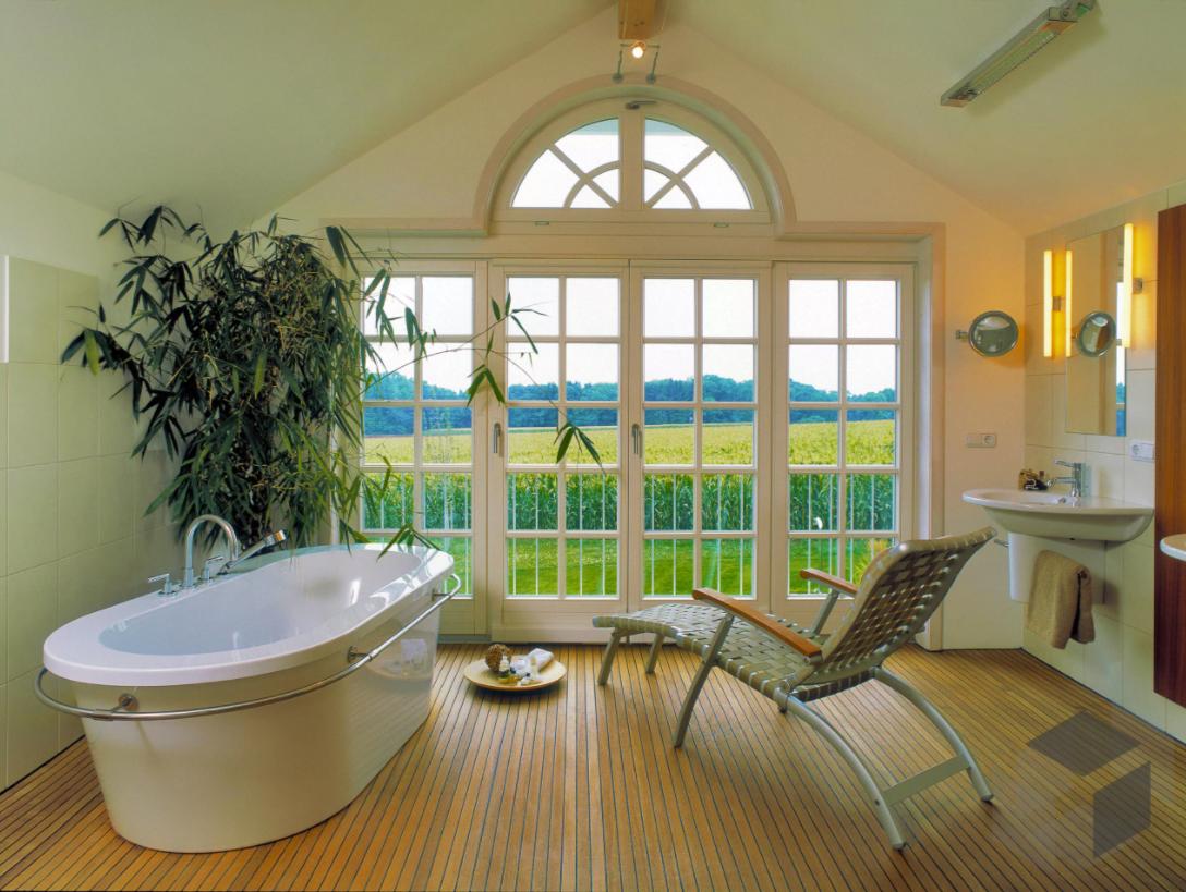 Innenarchitektur Badezimmer Inspiration Sammlung Von Aus Einem Baufritz . Eine Freistehende Badewanne