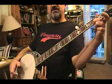Cripple Creek on 5-string Bluegrass Banjo - YouTube | Clawhammer ...