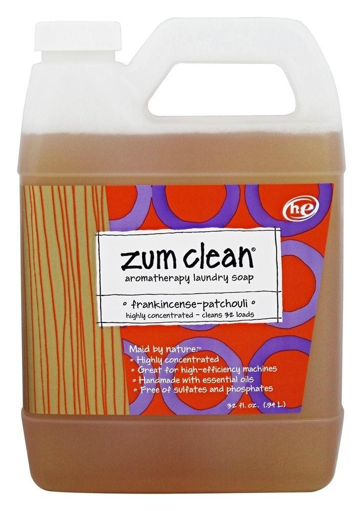 Zum Clean Aromatherapy Laundry Soap 32 Loads Frankincense