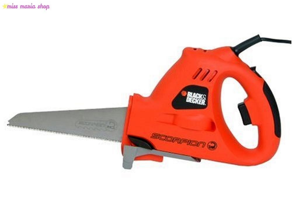 Electric Black And Decker Scorpion Hand Powered Saw Wood