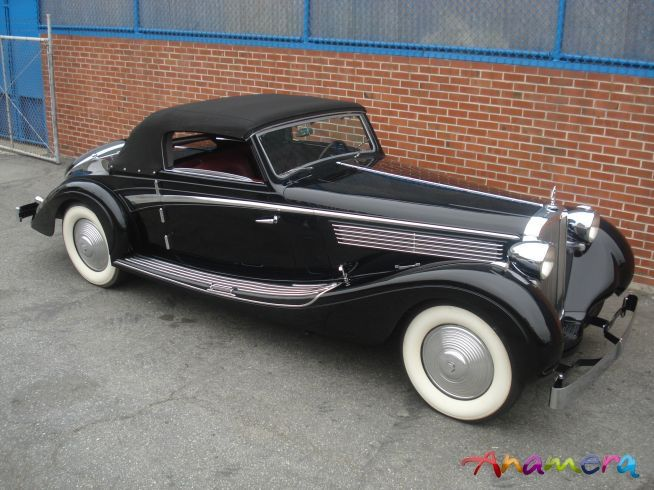 1938 Maybach SW 38 Roadster
