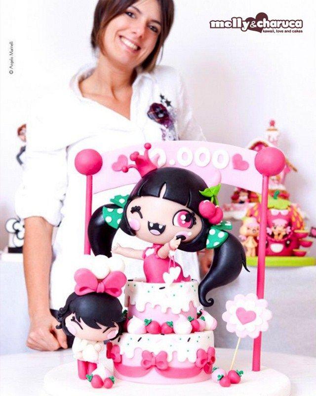 Molly Cake Artist : Molly & Charuca - Cake Girl- awesome Cake Art ...