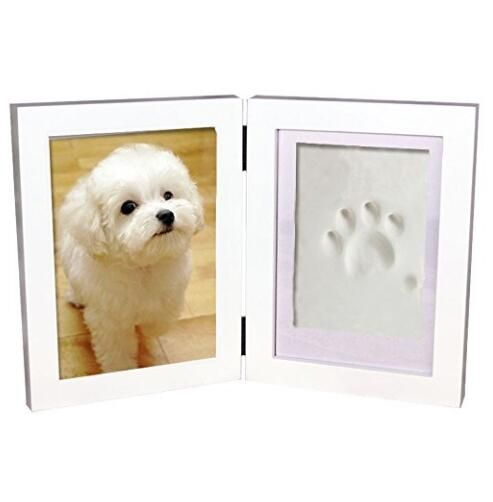 Easily create and frame an impression of your pet\'s paw and place ...