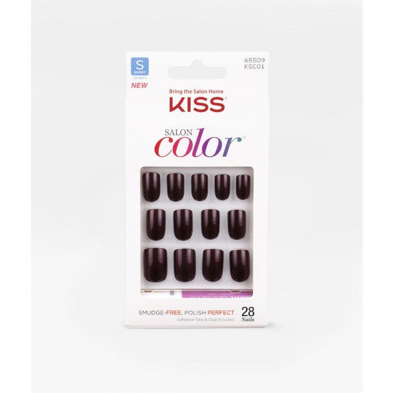 Salon Color by KISS - Vanity - Nails | Acrylics,fake nails ...
