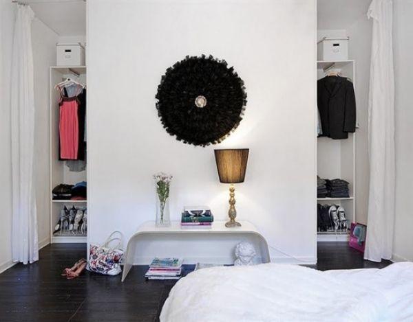 offener kleiderschrank kleines schlafzimmer zwei | Jugendzimmer ...