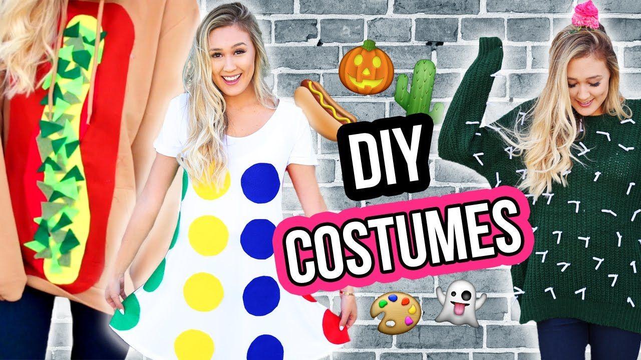 DIY HALLOWEEN COSTUME IDEAS FOR 12  LaurDIY  Diy halloween