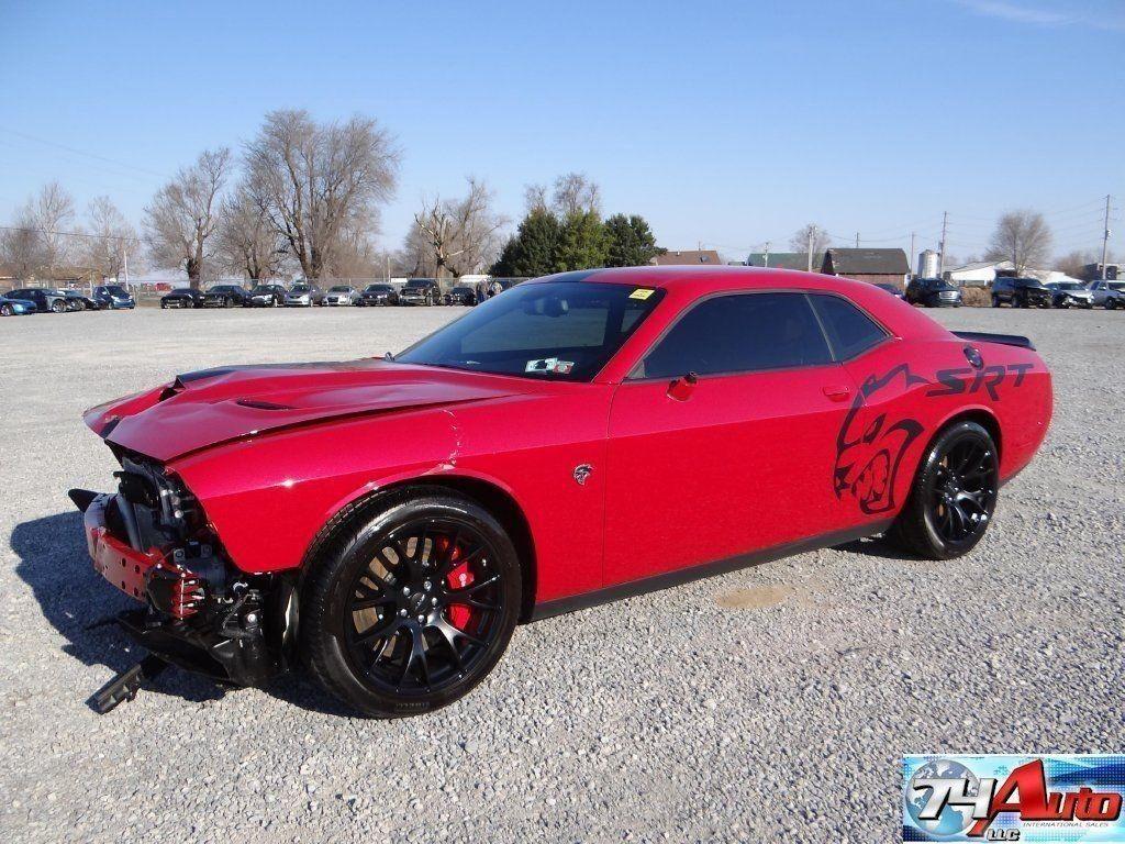 2015 Dodge Challenger Hellcat For Sale >> 2015 Dodge Challenger Srt Hellcat Repairable For Sale Inside