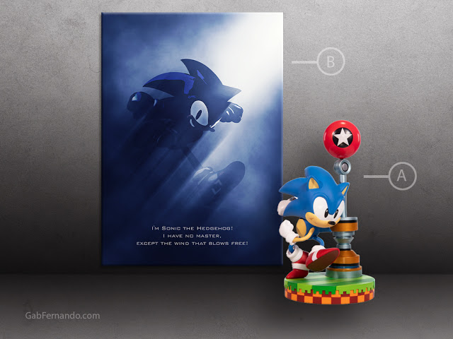 Sonic the Hedgehog | Displate thumbnail