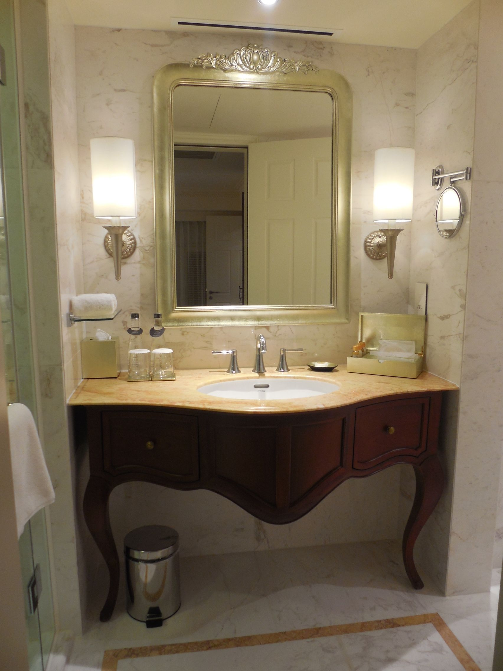 Be different but stylish with an art nouveau bathroom ...