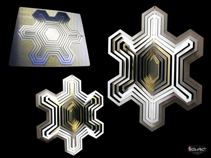 Bcompact Design - 3D Winkle Stars