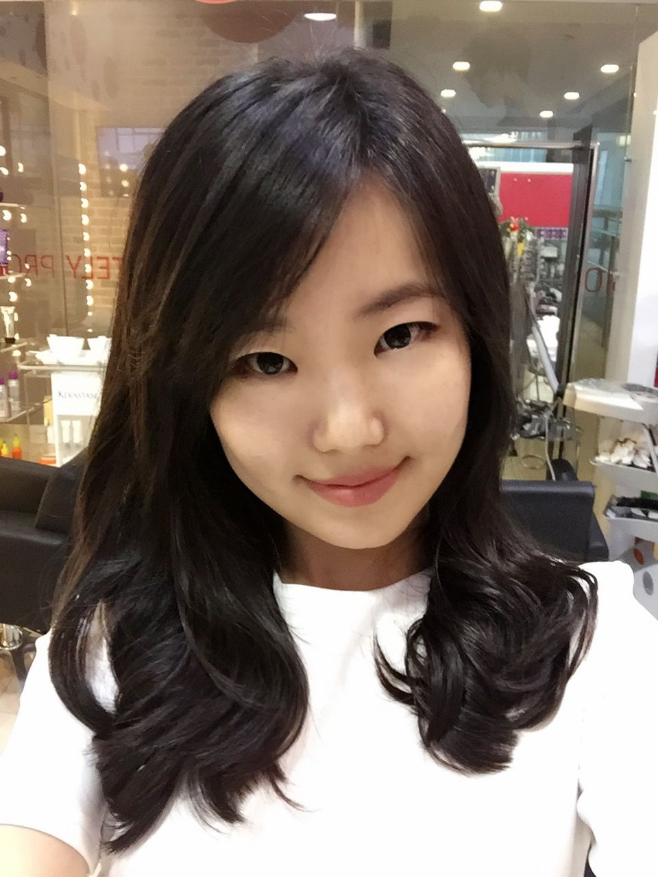 Straight perm yahoo answers - Korean Designer Perm Done By Korean Stylist Jade Lee Dusol Beauty Hair Salon Est