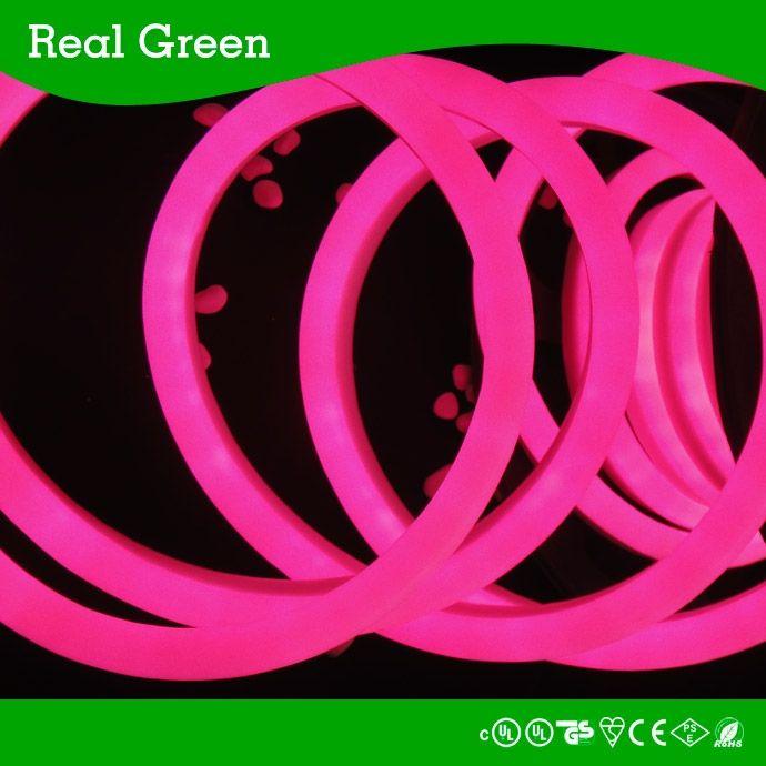 120v 2 Wires Pink Led Rope Light 220v Led Neon Rope Light Led Neon Effect Rope Light Waterproof Led N Led Rope Lights Led Down Lights Flexible Led Strip Lights
