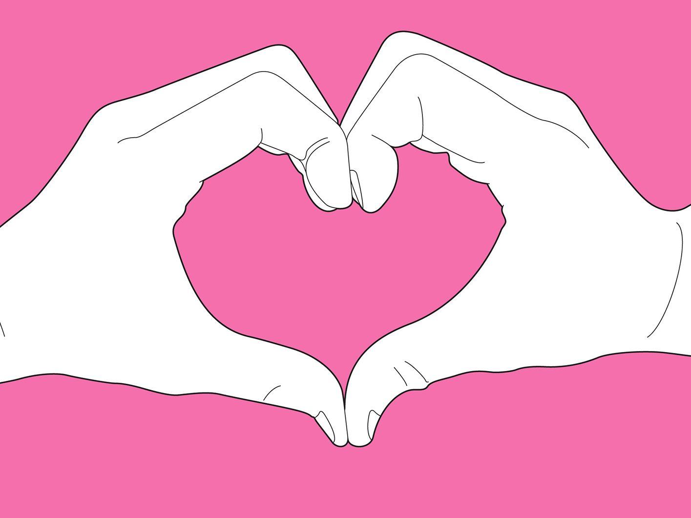 Картинки сердца из рук для срисовки, фотографии сделать картинку