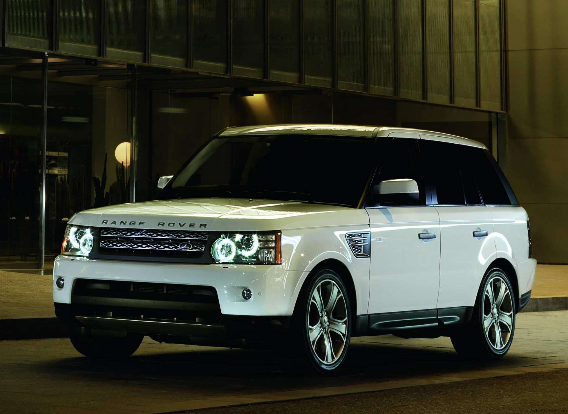 to gift my hunny with his own range rover sport in white