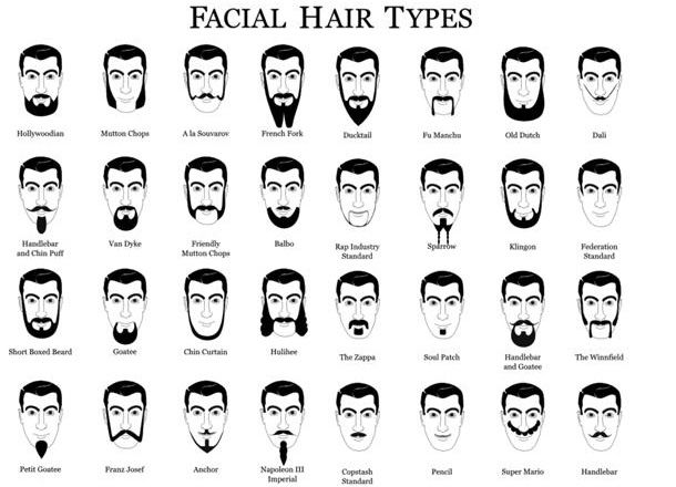 Tremendous 1000 Images About Facial Hair On Pinterest Men Facial Hair Short Hairstyles For Black Women Fulllsitofus