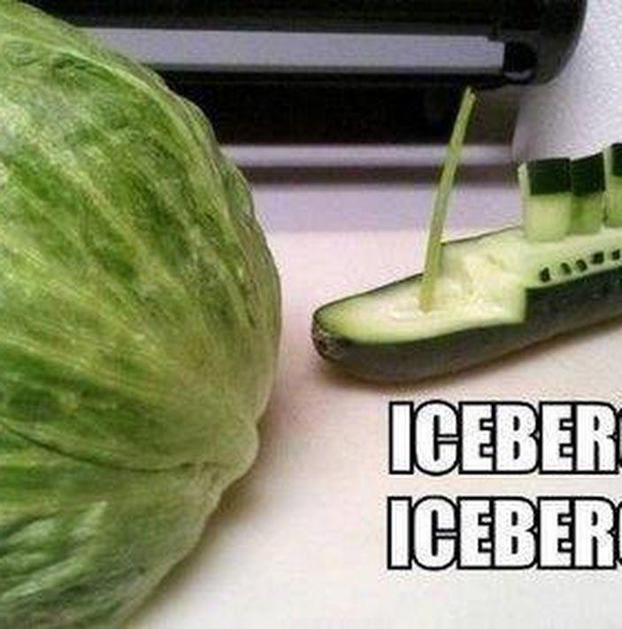 Watermelon iceberg.