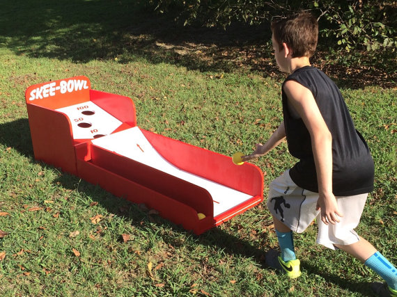 Skee Ball Style Carnival Game Skee ball, Carnival games