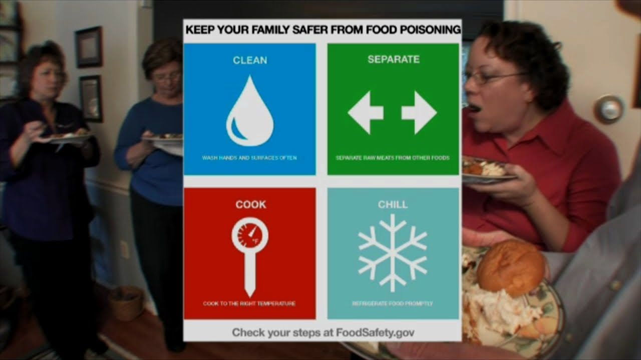 USDA Food Safety Tips For Holiday Buffets | Happy Healthy Holidays ...