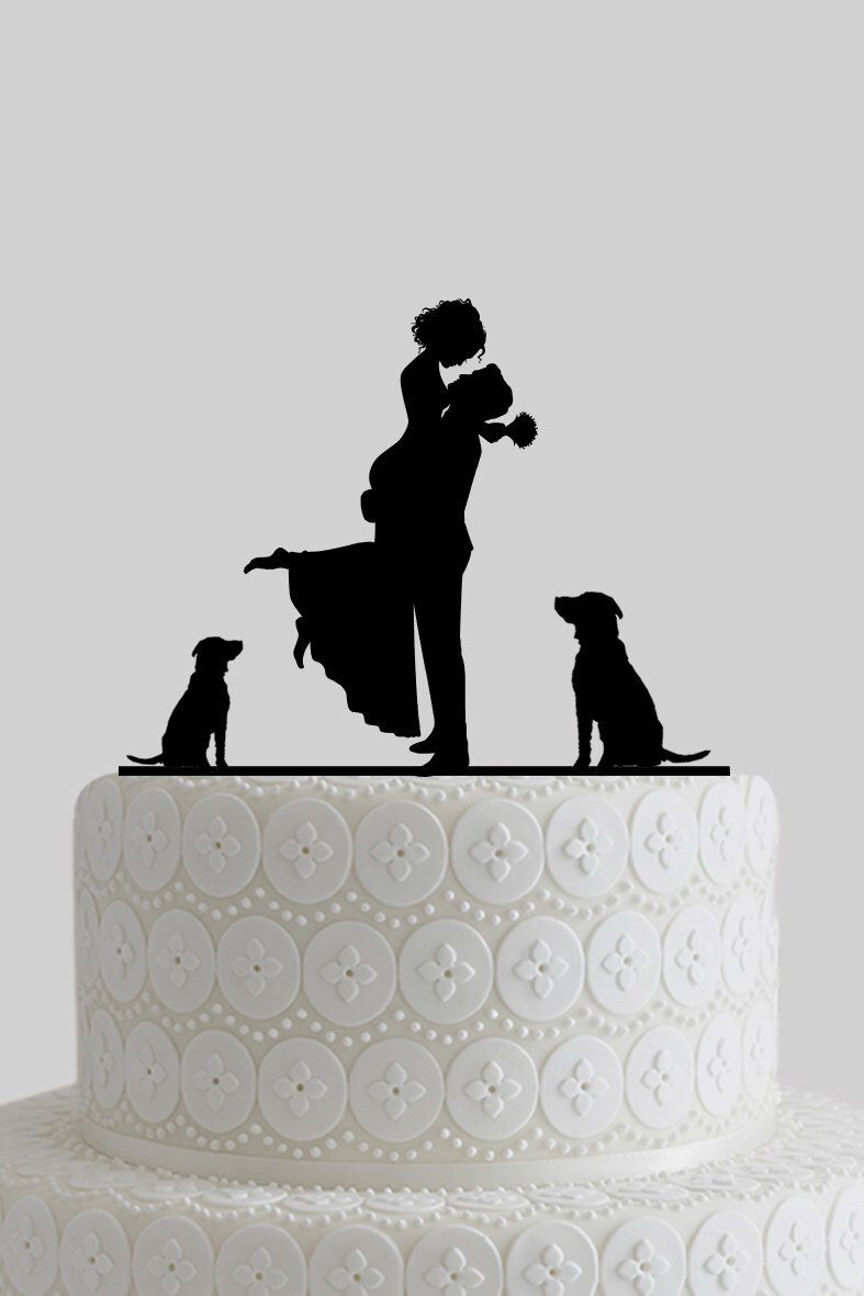 Custom wedding cake toppers mr and mrs cake topper bride and groom