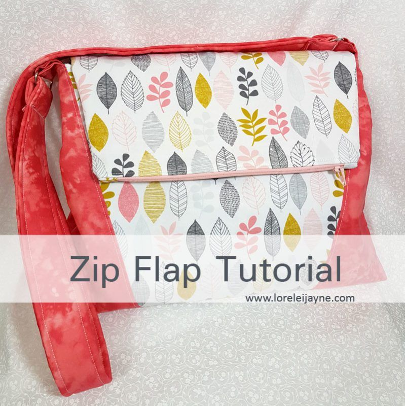 Zip Flap tutorial | neceser | Pinterest | Neceser