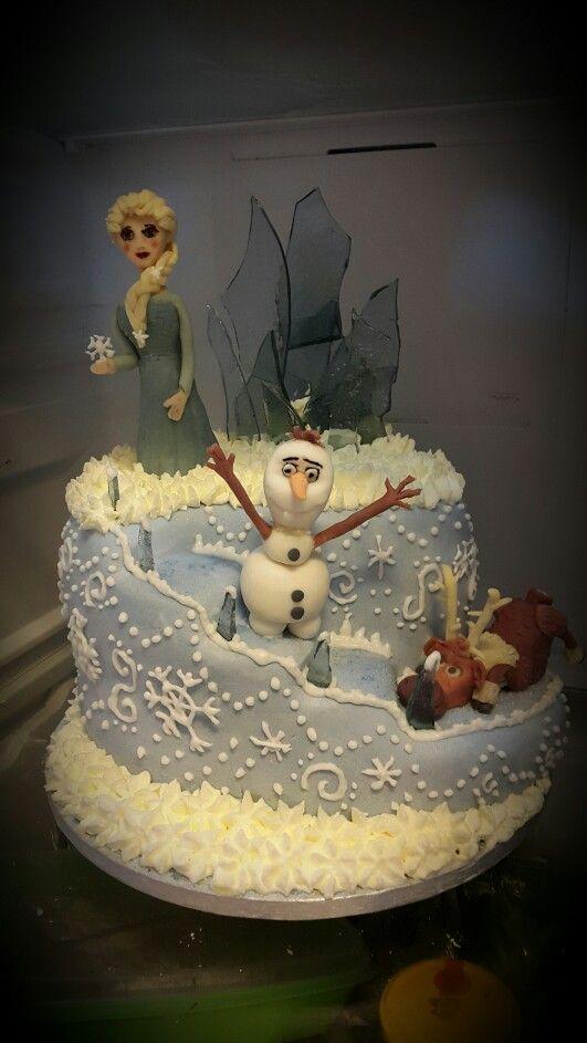 Frost tårta #barntårta #magiccakes #älskartårtor #takemetocakeheaven #cake #cakes #tårta #tårtor #lovetobake #hembakat