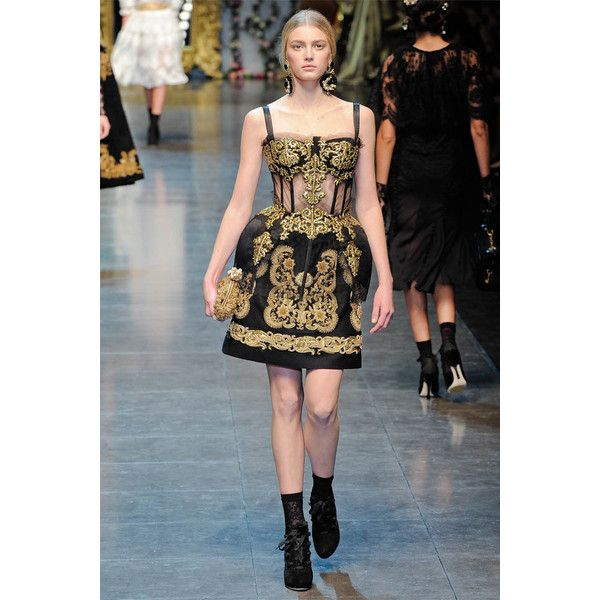 Dolce Gabbana Fall 2012 ❤ liked on Polyvore