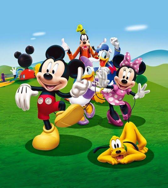 Fotomurales Disney En La Tienda Papel Pintado Y Fotomurales Barcelona Tamaño Medium Fotomurales De La Casa De Mickey Mouse Mickey Personajes De Mickey Mouse