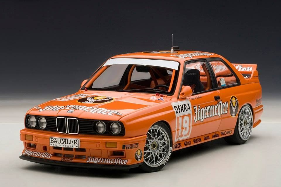 Bmw M3 Dtm 1992 Jagermeister Hahne 19 Track And Rally Cars Racing Cars