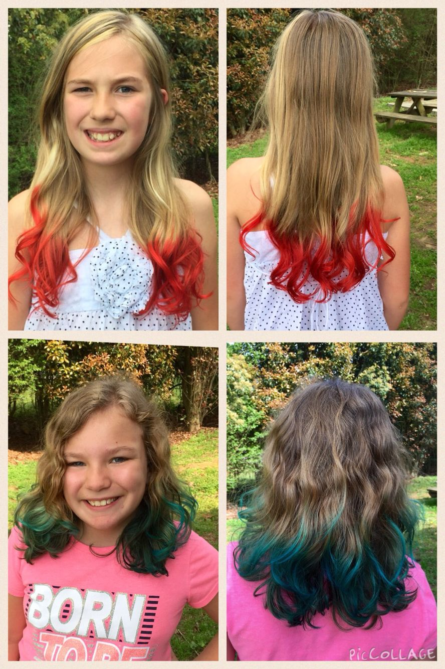 Koolaid Dip Dye So Easy I Used A Big Coffee Mug And Filled It 3 4 With Water And Then Heated In The M Kool Aid Hair Dye Hair Dye Tips Temporary