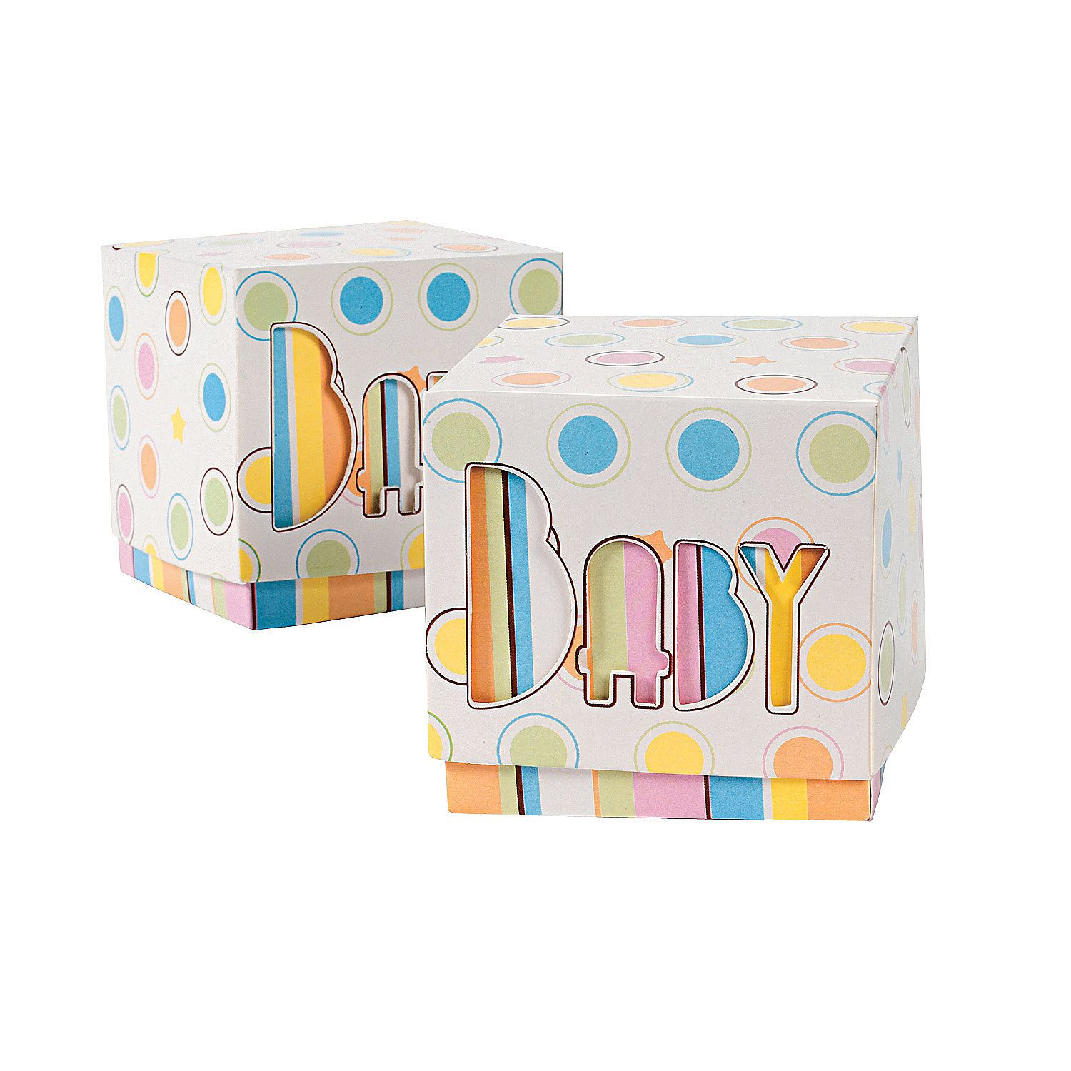 Special Delivery Favor Boxes - OrientalTrading.com   Baby Baby Baby ...