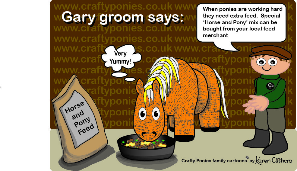 Gary The Crafty Ponies Groom Teaches Us About Concentrates