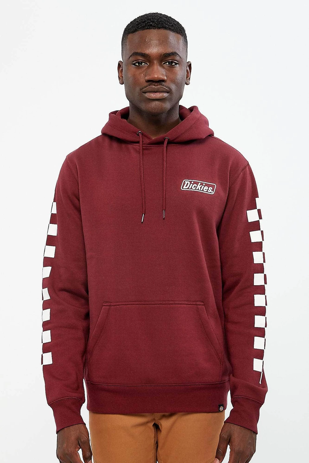 Mens Dickies Checkered Spiral Popover Hoodie Bluenotes Hoodies Hoodies Shop Dickies [ 1500 x 1000 Pixel ]