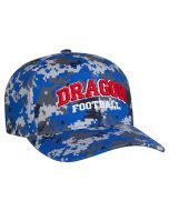 5261f4cb9ee 708F Digital Camo Performance Hats with 3D Custom Embroidery Universal Fit  by Pacific Headwear FREE SHIPPING