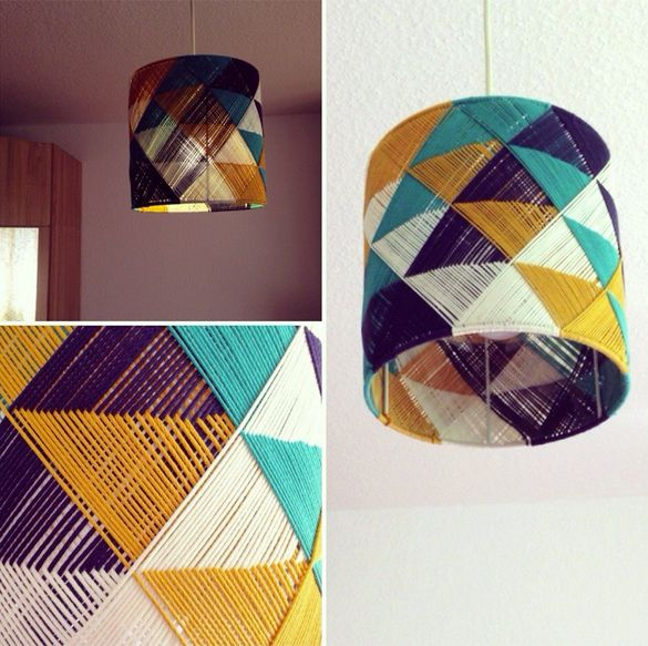 lampenschirm basteln lampen diy lampenschirm und bastelideen. Black Bedroom Furniture Sets. Home Design Ideas