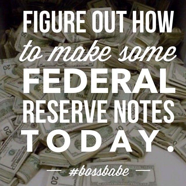 Idc if it's #sunday #federalreserves #bossbabe