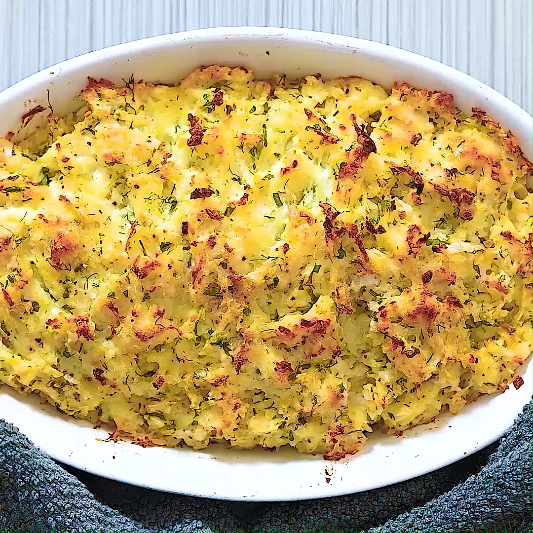 Thanksgiving Potato Casserole