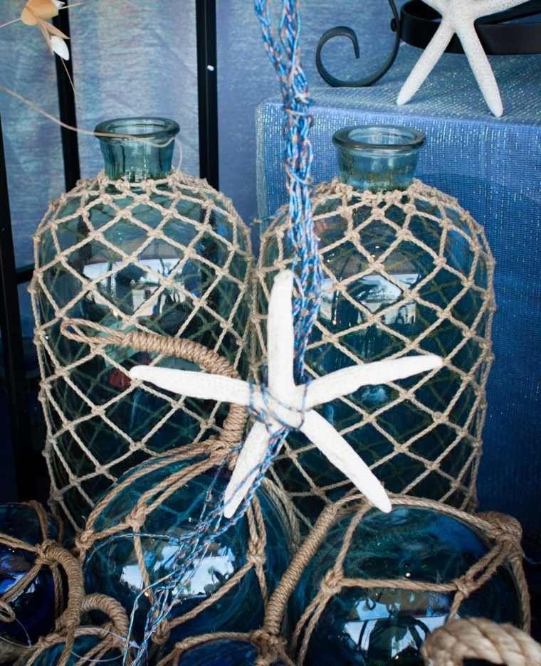 la corde de chanvre pour d corer vos vases c 39 est possible creative pinterest filet de. Black Bedroom Furniture Sets. Home Design Ideas