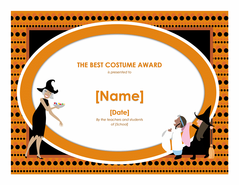 Halloween Best Costume Award | Who doesnt love free? | Pinterest ...