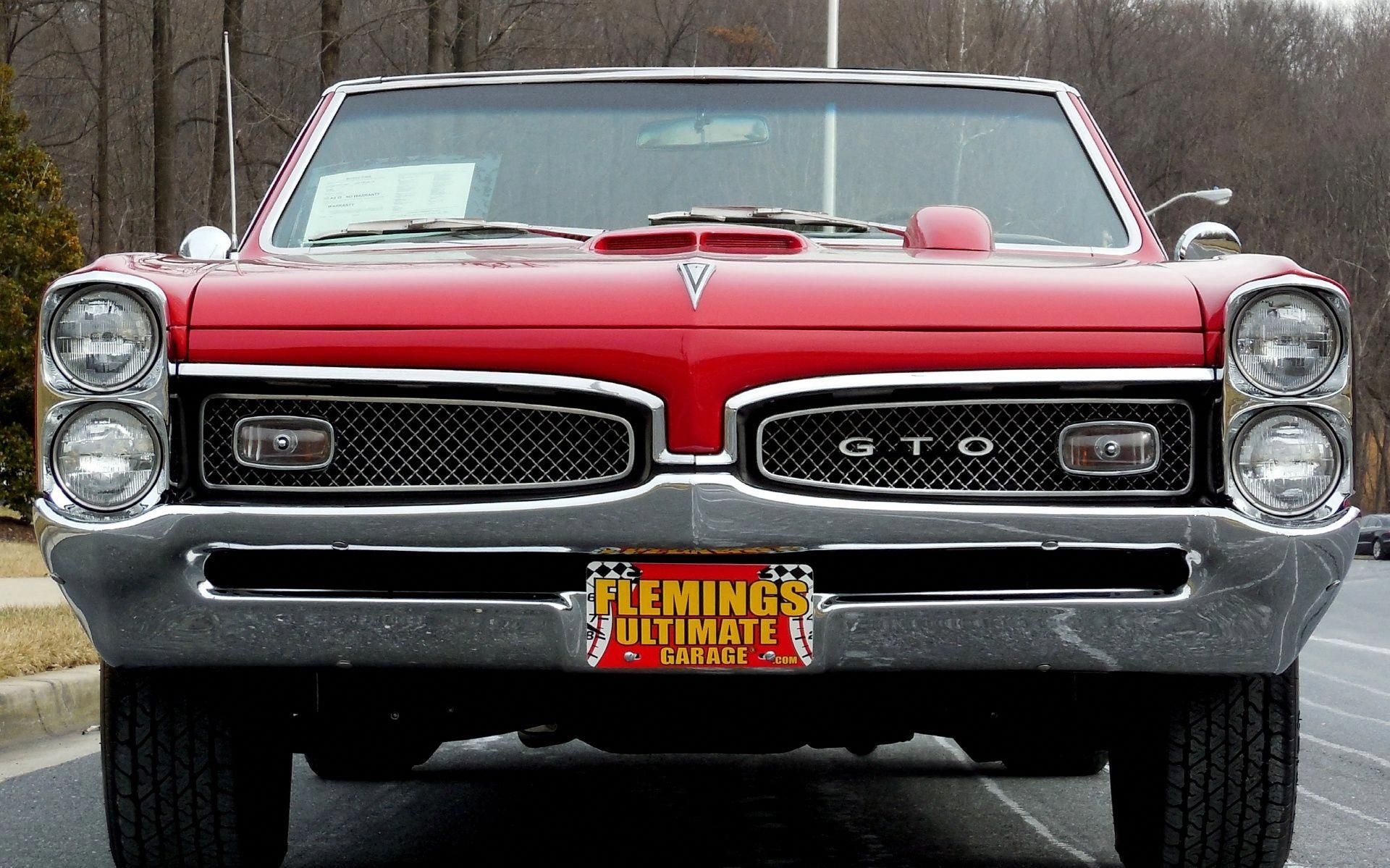 Otic Cars For Sale Flemings Ultimate Garage 1967 Pontiac