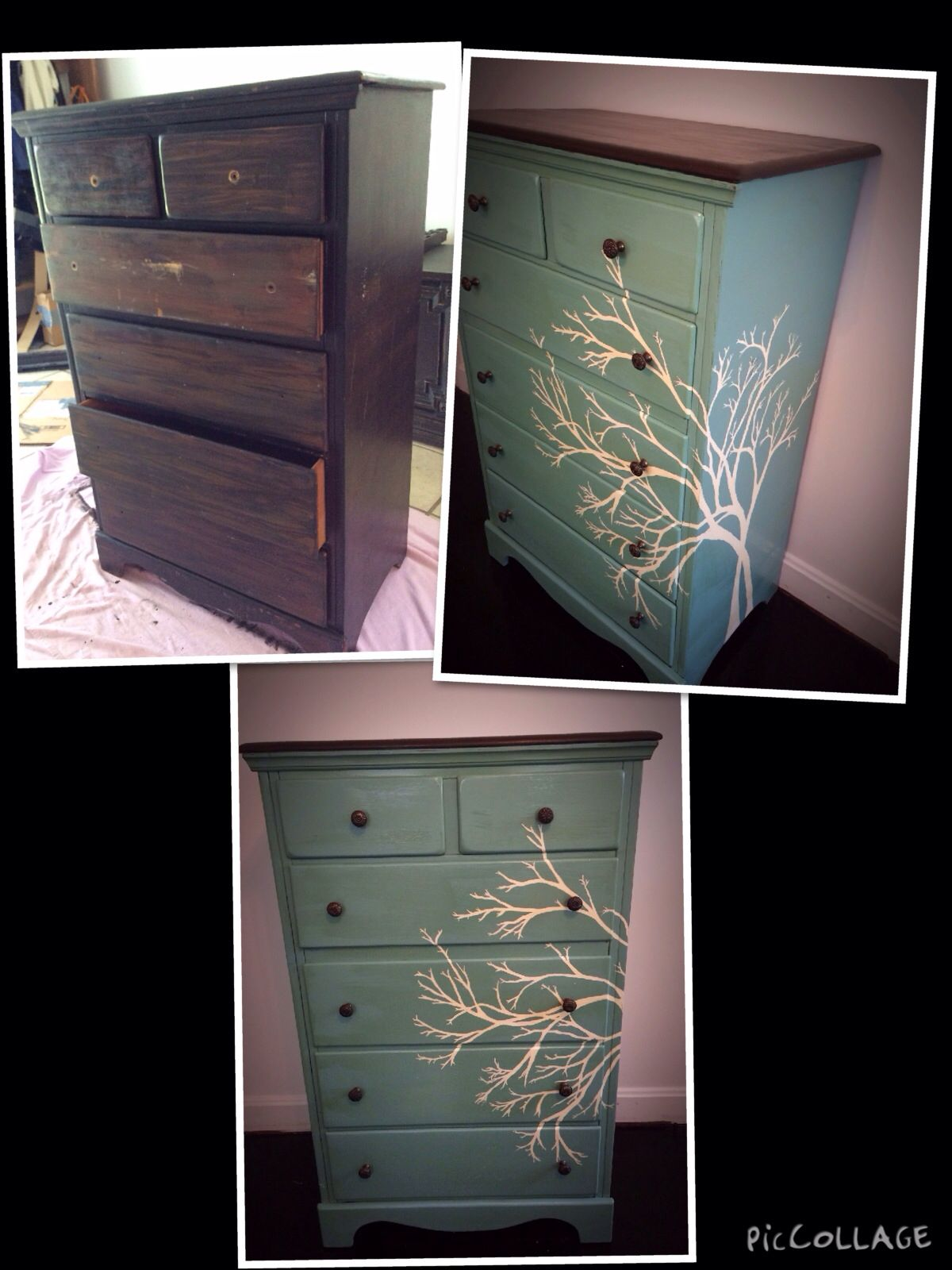 fixed up this old solid wood dresser they donu0027t even make furniture like