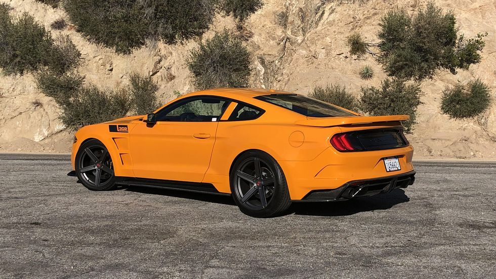 The Saleen S302 Black Label Is An 800 Horsepower Menace Ford Mustang Gt Ford Mustang Mustang