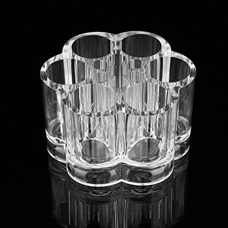 Yosoo Acrylic 7 Hole Flower Form Cosmetic Makeup Brush