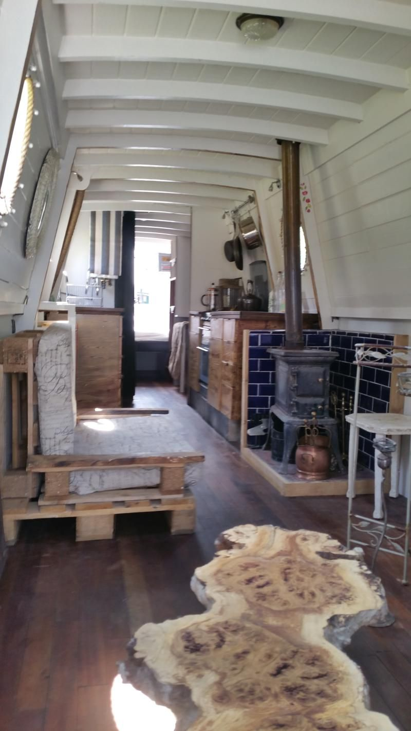52 ft traditional narrow boat dream home pinterest for Narrowboat interior designs