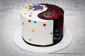 Jake's Cakes: Yin Yang Cake